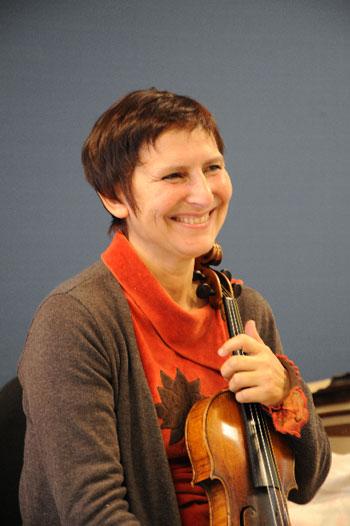 Nicole Tamestit - violon